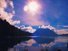 Danau Gunung Tujuh, Sumatra, Indonesia