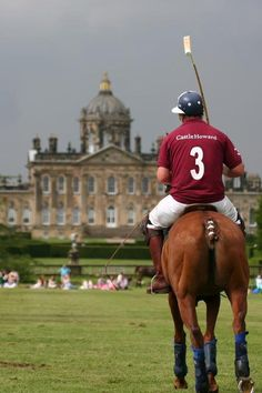 Polo at Castle Howard, Yorkshire, England..actually did attend the horse trials at Bleinheim 2010