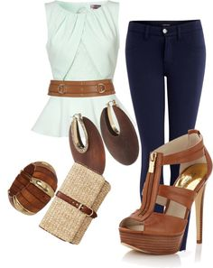"""""""Casual Summer Night"""" by steviebt on Polyvore"""