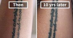 Thinking Of Getting A Tattoo? These 35 Pics Reveal How Tattoos Age Over Time - Thinking Of Getting A Tattoo? These Pics Reveal How Tattoos Age Over Time Hand Tattoos, Lotusblume Tattoo, Tattoos Mandala, Paar Tattoo, Tatto Ink, Tattoos Skull, Body Art Tattoos, New Tattoos, Cool Tattoos