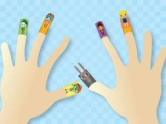 Who will have fun with these free downloadable finger puppets? Brownies who are meeting the characters while doing the Brownie Quest, WOW! Wonders of Water or A World of Girls programs.