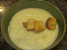 I just think it is amazing that you can get creaminess in a soup from cashews and water. That kind of blows my mind! I just put raw cashews in my food processor and grind them to powder, really, an…