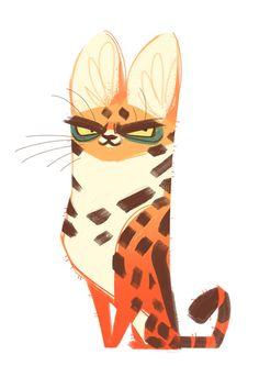 277: Serval Cat