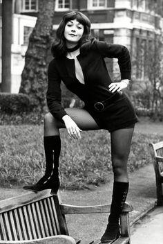 Linda Thorson as Tara King from the Avengers