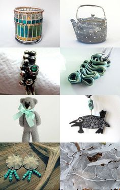 Frozen Green Gifts by ILONA on Etsy--Pinned with TreasuryPin.com
