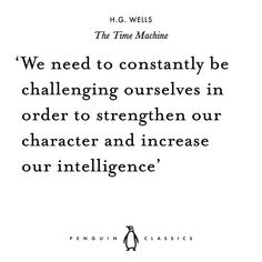 H. G. Wells born #onthisday in 1866. His books have had a lasting influence on science fiction literature and cinema. Is it time to (re)read one of his classic novels? Start off with this from The Time Machine.
