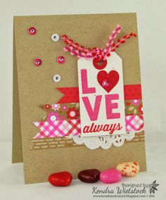 Kendra's Card Company: love always with avery elle...