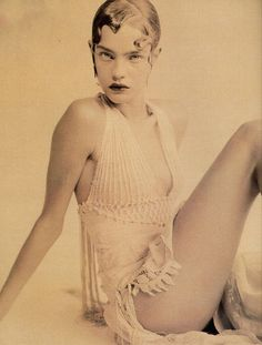Natalia Vodianova by Paolo Roversi for Vogue Italia September 2002