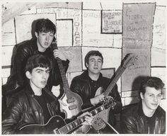 Tonight 3-21 in 1961, The Beatles played their first ever evening gig at The Cavern Club in Liverpool. They had previously only been booked to play lunchtime gigs before tonight.