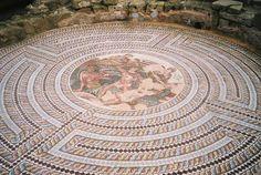 Paphos mosaic, Cyprus