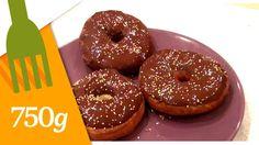 Recette de Donuts au chocolat - 750 Grammes
