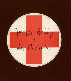 Joseph Beuys - Joseph Beuys + die Medizin. 1979. #surrazionale.