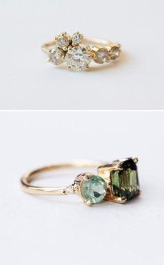 Beautiful, unique rings from Mociun.