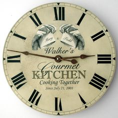 The Modern First Anniversary Gift Is A Clock Wedding