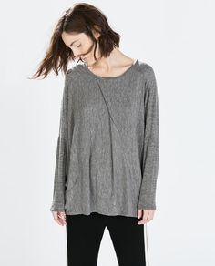 LOOSE T-SHIRT from Zara