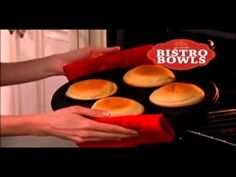 http://asseenontvblog.net/index.php/as-seen-on-tv-bistro-bowls-review/ Bistro Bowls lets you make delicious home made bread bowls the easy way!   #asseenontv #asotv #bistro #bowl #bread #food #cooking #pans #cookware #cooking #baking #breadbowl #video