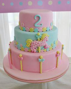 Carousel Cake by Violeta Glace