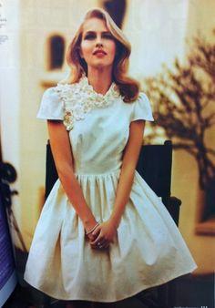 Loving: 6 Non-Traditional Wedding Dresses Antique Wedding Dresses, Vintage Dresses, Vintage Lace, High Fashion Dresses, Short Dresses, Bridal Gowns, Gown Wedding, Dubai Wedding, Traditional Wedding Dresses