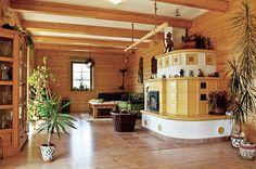 Dům na stráni | Chatař & Chalupář Stoves, Home Fashion, Mansions, Architecture, House Styles, Home Decor, Arquitetura, Decoration Home, Skillets
