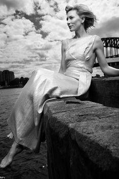 Cate Blanchett by Jonas Fredwall Karlsson