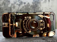 steampunk camera case for iphone 4,iphone 4s,iphone 5,iphone 5c,iphone 5s,galaxy s3,galaxy s4,ipod 4 and ipod 5