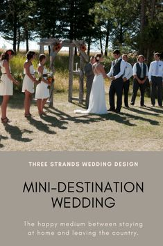 Mini-Destination Wedding: A smaller version of a destination wedding gets you in the travel mood, with more guests, and less hassle. Domestic Destinations, Destination Wedding Inspiration, Strands, Wedding Designs, Wedding Planning, How Are You Feeling, Posts, Mood, Fun