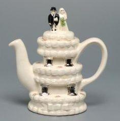 Wedding Cake tea pot