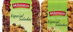 Milaneza lança Búzios Integrais e Laços Bicolor próprias para saladas