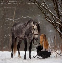 """You And I by Anette Augestad on 500px """"There is something about the outside of a horse that is good for the inside of a man (or woman).""""-Winston Churchill"""
