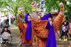 03 Akita Hachirogata town Gannin Dance Japan 2015 2015年5月5日 八郎潟町 一日市神社 大人願人踊り