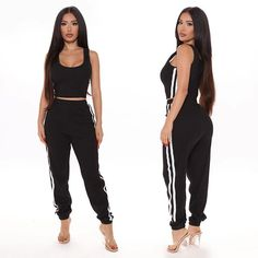 Swag Outfits For Girls, Sexy Outfits, Trendy Outfits, Girl Outfits, Cute Outfits, Fashion Outfits, Fashion Clothes, Pretty White Girls, Sport Fashion