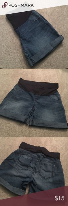 Oh Baby Maternity Shorts Gently Used Oh Baby Denim Maternity Shorts. Oh Baby by Motherhood Shorts Jean Shorts