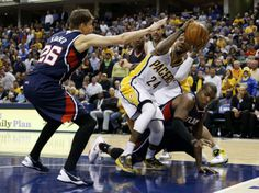 Hawks vs Pacers (Reuters)