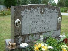 Grave Marker- John Belushi (Family Grave Marker) This is the actual location of Belushi's burial.