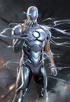 Marvel Comics, Marvel Comic Universe, Marvel Art, Marvel Heroes, Marvel Avengers, Iron Man Avengers, Iron Man Pictures, Superior Iron Man, Iron Man Art