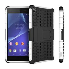HATOLY For Case Sony Xperia Z3 Cover Heavy Duty Silicone Phone Case For Sony Xperia Z3 Case For Sony Z3 D6603 D6643 D6653 <*