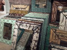 mirrors made from tin ceiling tiles.  Rent-Direct.com - Apartments for Rent in NYC, with No Broker's Fee.