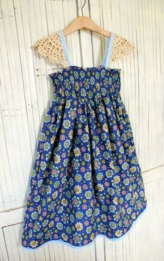 Girls Size 8 Handmade Meadow Dress - Ready to Ship by Two Pink Flamingos on Etsy, $50.00 AUD
