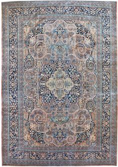 Antique Khorosan Rug    Hand-knotted in Persia  Circa 1920