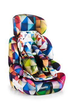 Cosatto Zoomi | Spectroluxe. The Daddy. Zoomi is the daddy of child car seats. In it for the long haul from tot to big kid. With sturdy support and unique safety features, this anti escape car seat is a handsome high-backed seat that is good at everything.