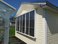 Harness the sun's energy to heat your garage workshop.
