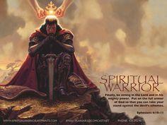 The Warrior Art   Christian Art Prints by spiritwap.deviantart.com on @deviantART