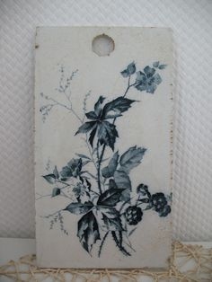 Villeroy & Boch. Rubus 1850-1909 Antikes Frühstückbrettchen in Antiquitäten & Kunst, Porzellan & Keramik, Keramik | eBay