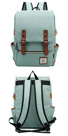 Briefcases and Laptop Bags 169293  Womens Mens Large Bags School Backpack  Laptop Bag Work Waterproof Light Green -  BUY IT NOW ONLY   33.99 on eBay! 1020e9df78