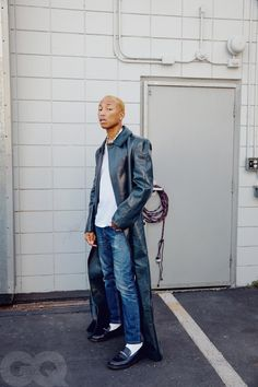 Pharrell Williams for GQ USA in photos by Micaiah Carter Pharrell Williams, Gq Usa, Chanel Shirt, Blurred Lines, Richard Mille, Spiritual Warfare, Cultura Pop, White Man, Tank Top Shirt