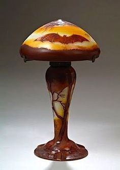 Muller Frères, Lampe Chauve Souris.France ,circa 1919. Мюллер фрер, лампа летучая мышь.Франция, около 1919 года. 穆勒 兄弟们,灯秃鼠标。法国,大约1919年。