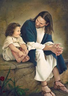 Let the little children come to me and do not hinder them, for to such belongs the kingdom of heaven