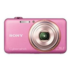 Sony DSC-WX70 16.2 Megapixel Point & Shoot Digital Camera - Pink