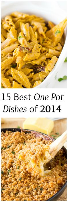 15 Best One Pot Dishes of 2014!