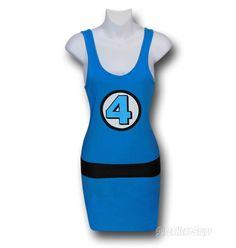 Fantastic Four Costume Tank Dress $39.99